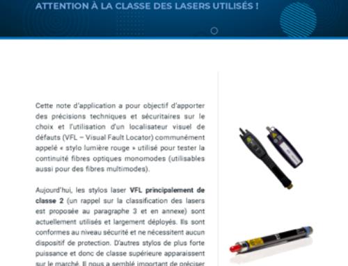 Test de continuité : quelle puissance pour les stylos VFL ?