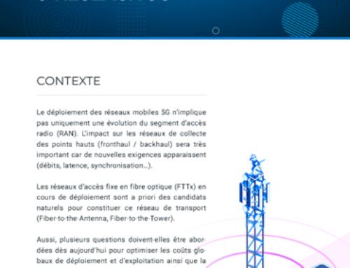 Note FTTH et réseaux 5G